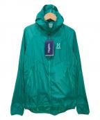 HAGLOFS(ホグロフス)の古着「ナイロンジャケット」|グリーン
