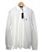 POLO RALPH LAUREN(ポロ・ラルフローレン)の古着「ポロシャツ」|ホワイト