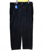 Porter Classic(ポータークラシック)の古着「CORDUROY PANTS」|ネイビー