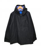 BEAMS(ビームス)の古着「シェルジップパーカー」 ブラック