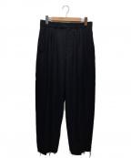 BED J.W. FORD(ベッドフォード)の古着「Slash Trousers. ver.2」|ネイビー