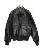 ()の古着「A-2フライトジャケット」|ブラック
