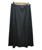 ()の古着「プリーツスカート」 グレー