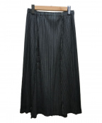 PLEATS PLEASE(プリーツプリーズ)の古着「プリーツスカート」 グレー