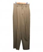 6(ROKU) BEAUTY&YOUTH()の古着「TUCK PANTS」|ブラウン