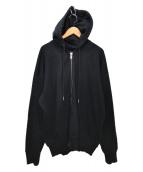 DIESEL(ディーゼル)の古着「ジップパーカー」|ブラック