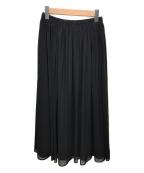 NEMIKA()の古着「ロングフレアスカート」|ブラック