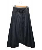 ()の古着「ハイブリットデニムスカート」|ネイビー