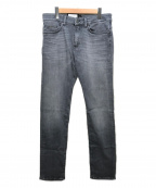 BOSS HUGO BOSS(ボスヒューゴボス)の古着「デニムパンツ」|グレー