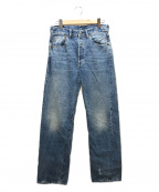 LEVIS VINTAGE CLOTHING(リーバイスヴィンテージクロージング)の古着「テーパードストレートデニムパンツ」|ブルー