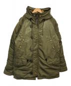 ()の古着「N-3Bジャケット」 グリーン