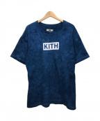 KITH(キス)の古着「タイダイTシャツ」 ネイビー