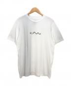 OAMC(オーエーエムシー)の古着「蛇プリントTシャツ」|ホワイト