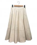 TELA(テラ)の古着「フレアスカート」|アイボリー