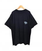 HARLEY-DAVIDSON(ハーレーダビットソン)の古着「ポケットTシャツ」|ネイビー