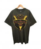 HARLEY-DAVIDSON(ハーレーダビットソン)の古着「プリントTシャツ」|オリーブ