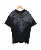 HARLEY-DAVIDSON(ハーレーダビットソン)の古着「龍プリントTシャツ」|ブラック