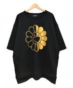 ReZARD(リザード)の古着「lower Short Sleeve Sweatshirts」|ブラック