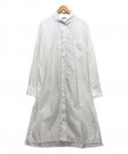 s'yte(サイト)の古着「Broad Regular Collar Long Shir」 ホワイト