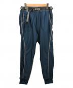 and wander(アンドワンダー)の古着「light fleece pants」 ブルー