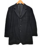 ()の古着「3Bウールジャケット」 ネイビー