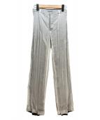 ()の古着「プリーツパンツ」|ライトグレー