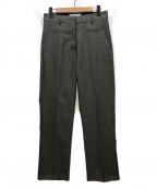 LOEWE(ロエベ)の古着「tailored wool trousers」 グレー