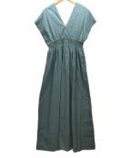 MARIHA(マリハ)の古着「夏の光のドレス」 スモーキーブルー