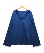 ()の古着「RH LACE-UP DECK PARKA」 ブルー