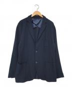 LACOSTE(ラコステ)の古着「テーラードジャケット」|ネイビー
