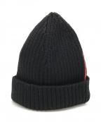 PRADA SPORTS(プラダスポーツ)の古着「ニット帽」|ブラック