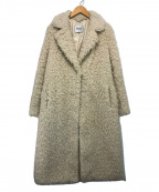 stand(スタンド)の古着「Renee Alpaca Fur Coat」|ホワイト