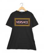 VERSACE(ヴェルサーチ)の古着「Damen T-Shirt」 ブラック
