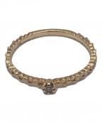 AGATE(アガット)の古着「ダイヤモンドリング」|ゴールド