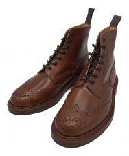 Tricker's (トリッカーズ) カントリーブーツ ブラウン サイズ:UK8 1/2