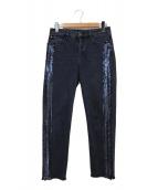 ()の古着「ボーイフィットデニムパンツ J16」 インディゴ