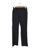 ()の古着「SEIGNE STRETCH PANT」 ブラック