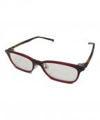 999.9(フォーナインズ)の古着「伊達眼鏡」|ブラウン