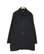 ()の古着「coxtanメルトンコート」 ブラック