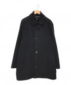 HUGO BOSS(ヒューゴ ボス)の古着「coxtanメルトンコート」 ブラック