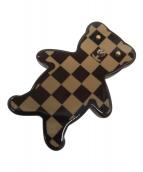 ()の古着「ブロッシュ・ヌヌールテディベア/ブローチ」 ブラウン