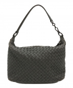 BOTTEGA VENETA(ボッテガベネタ)の古着「イントレチャートハンドバッグ」|グレー