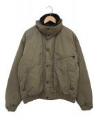 ()の古着「中綿ジャケット」 オリーブ