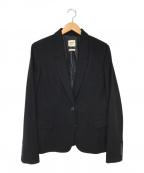 HERMES(エルメス)の古着「ウールテーラードジャケット」|ブラック