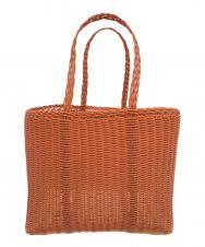 PALOROSA (パロローサ) FLAT Bicolor Bag S オレンジ