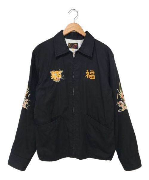 """東洋エンタープライズ(トウヨウエンタープライズ)東洋エンタープライズ (トウヨウエンタープライズ) VIETNAM JACKET """"VIETNAM MAP"""" ブラック サイズ:Mの古着・服飾アイテム"""