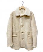 DELUXE(デラックス)の古着「ムートンコート」|ベージュ