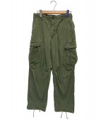 US ARMY(ユーエスアーミー)の古着「60'sヴィンテージジャングルファティーグパンツ」 カーキ