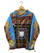 DRESS CAMP×lotto(ドレスキャンプ × ロット)の古着「総柄ナイロンパーカー」|マルチカラー