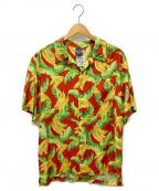 APPLEBUM(アップルバム)の古着「Banana Aloha Shirt」|レッド